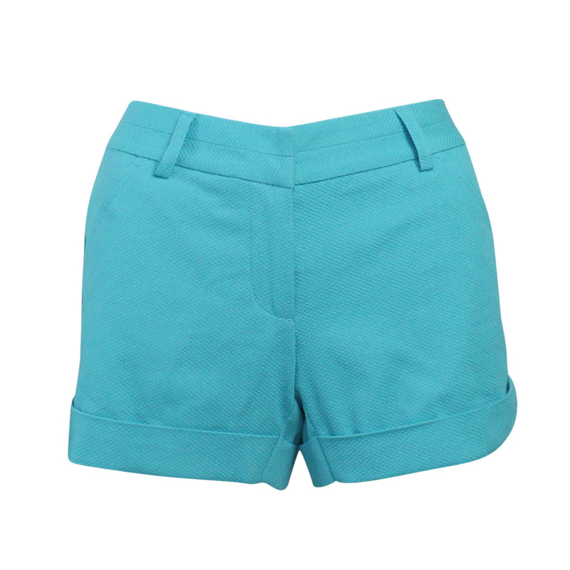 Annie Griffin Turquoise Gracie Short Size 8 Muse Boutique Outlet | Shop Designer Clearance Shorts on Sale | Up to 90% Off Designer Fashion