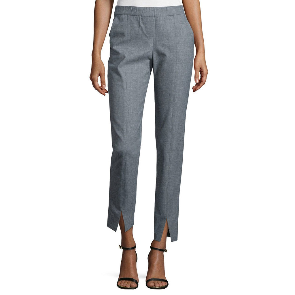 Halston Heritage Heather Gray Mid Rise Cropped Pant Size 4 Muse Boutique Outlet | Shop Designer Clearance Bottoms on Sale | Up to 90% Off Designer Fashion