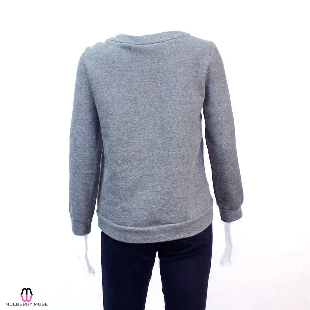 Waverly Grey  Waverly Grey Faux Fur Sweatshirt Size  Muse Boutique Outlet | Shop Designer Clearance Sweaters on Sale | Up to 90% Off Designer Fashion
