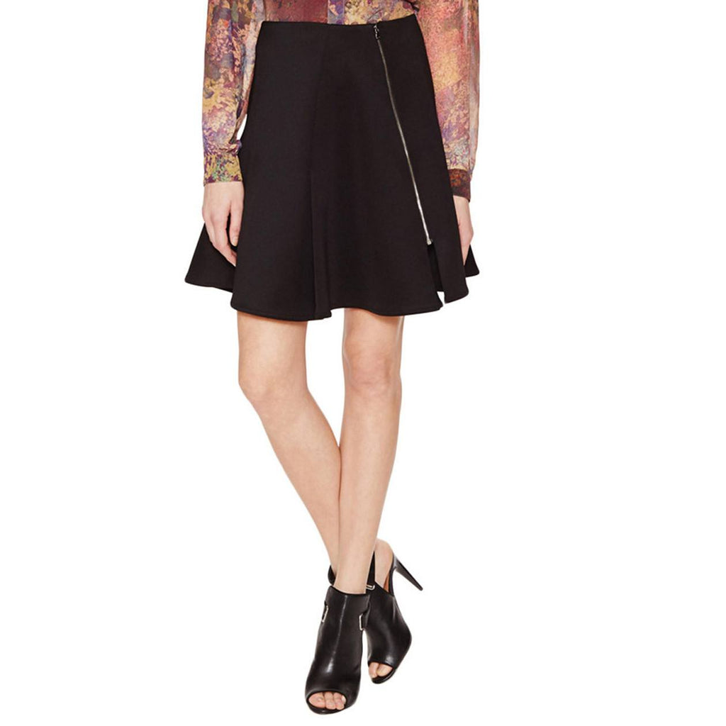Hunter Bell Black Oliver Asymmetric Skirt Size 2 Muse Boutique Outlet | Shop Designer Clearance Skirts on Sale | Up to 90% Off Designer Fashion