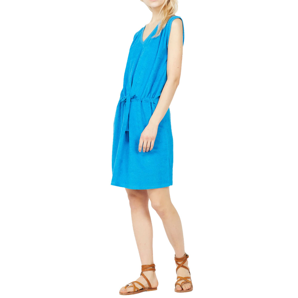 Acote Blue Short Terrycloth Dress Size 1 Muse Boutique Outlet | Shop Designer Dresses on Sale | Up to 90% Off Designer Fashion