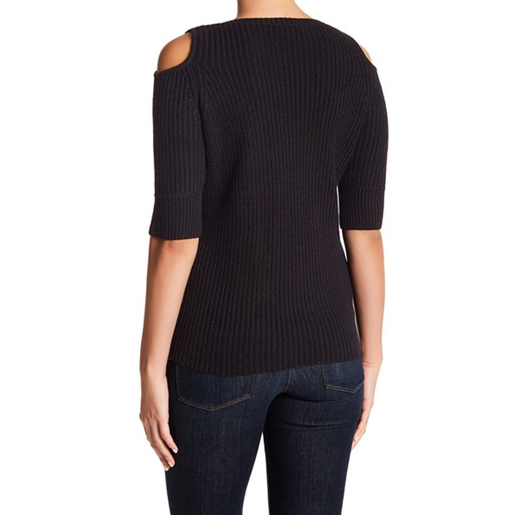 Acrobat  Cotton Cold Shoulder Sweater Size  Muse Boutique Outlet | Shop Designer Sweaters on Sale | Up to 90% Off Designer Fashion