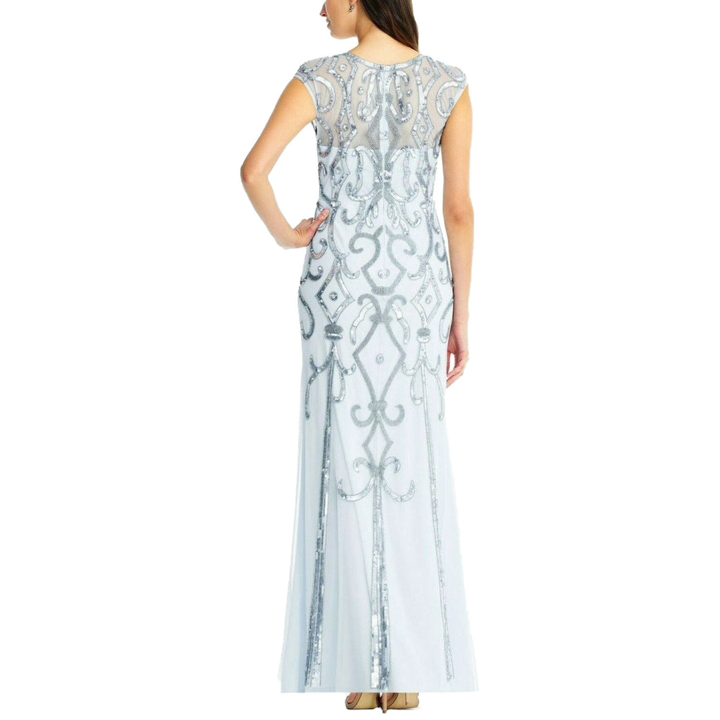 Aidan Mattox  Deco Embellished Evening Gown Size  Muse Boutique Outlet | Shop Designer Dresses on Sale | Up to 90% Off Designer Fashion