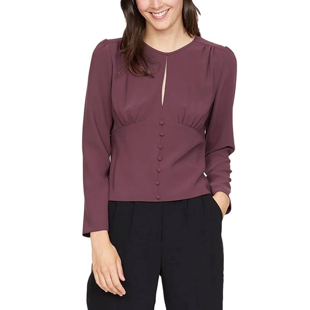 Amanda Uprichard Pinot Marlow Long Sleeve Top Size Extra Small Muse Boutique Outlet | Shop Designer Long Sleeve Tops on Sale | Up to 90% Off Designer Fashion