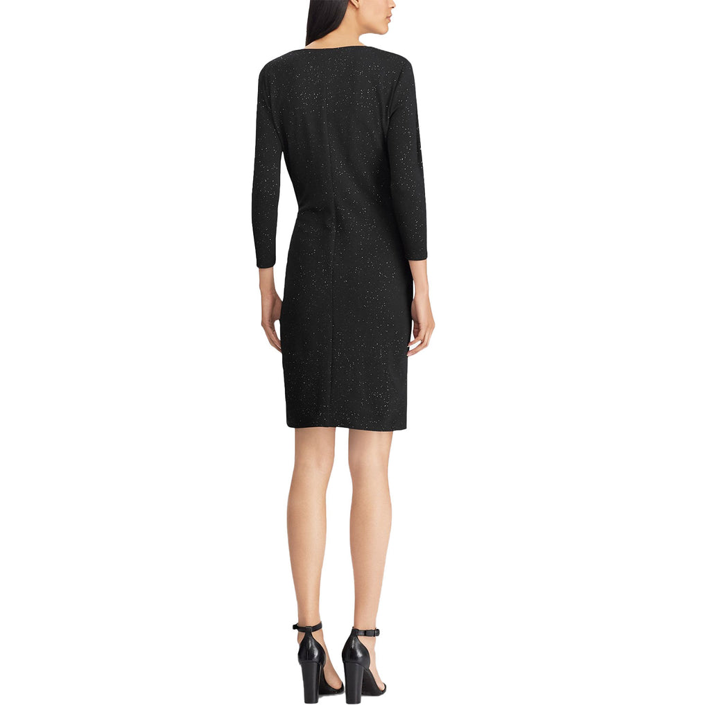 American Living  Metallic Knit Surplice Dress Size  Muse Boutique Outlet | Shop Designer Clearance Dresses on Sale | Up to 90% Off Designer Fashion