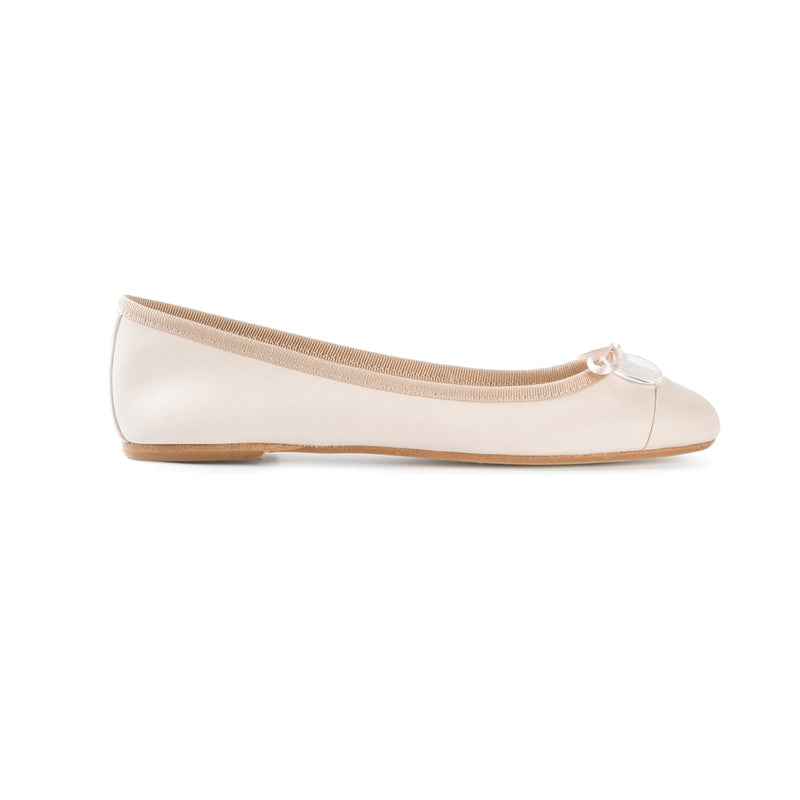 Anna Baiguera Powder Annechic Ballerina Flat Size 37 Muse Boutique Outlet | Shop Designer Flats on Sale | Up to 90% Off Designer Fashion