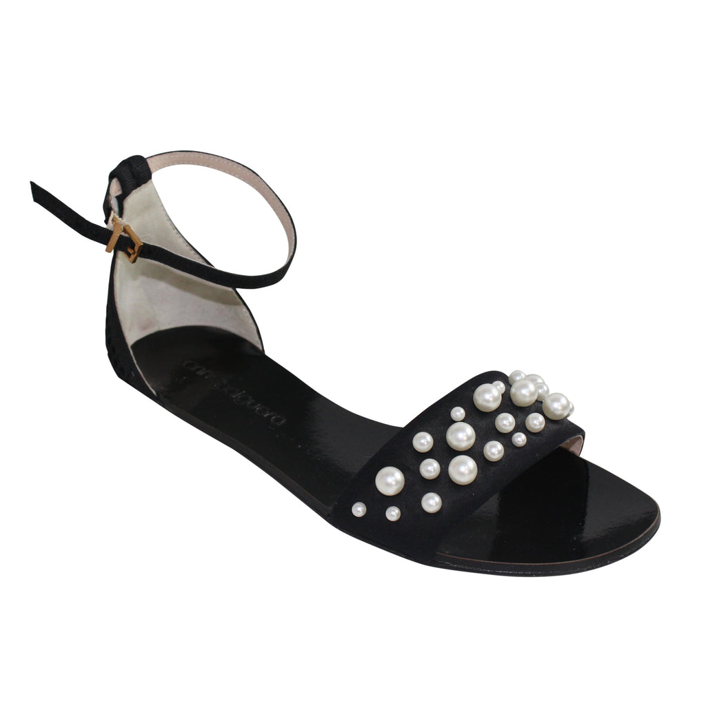 Anna Baiguera  Abby Pearl Sling Sandal Size  Muse Boutique Outlet | Shop Designer Sandals on Sale | Up to 90% Off Designer Fashion