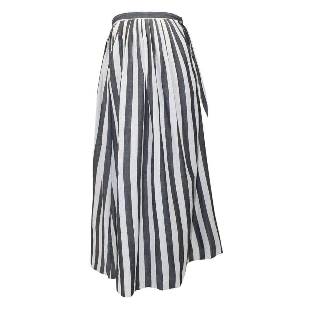 Anaak Gray Devika Stripe Skirt Size 0 Muse Boutique Outlet | Shop Designer Skirts on Sale | Up to 90% Off Designer Fashion
