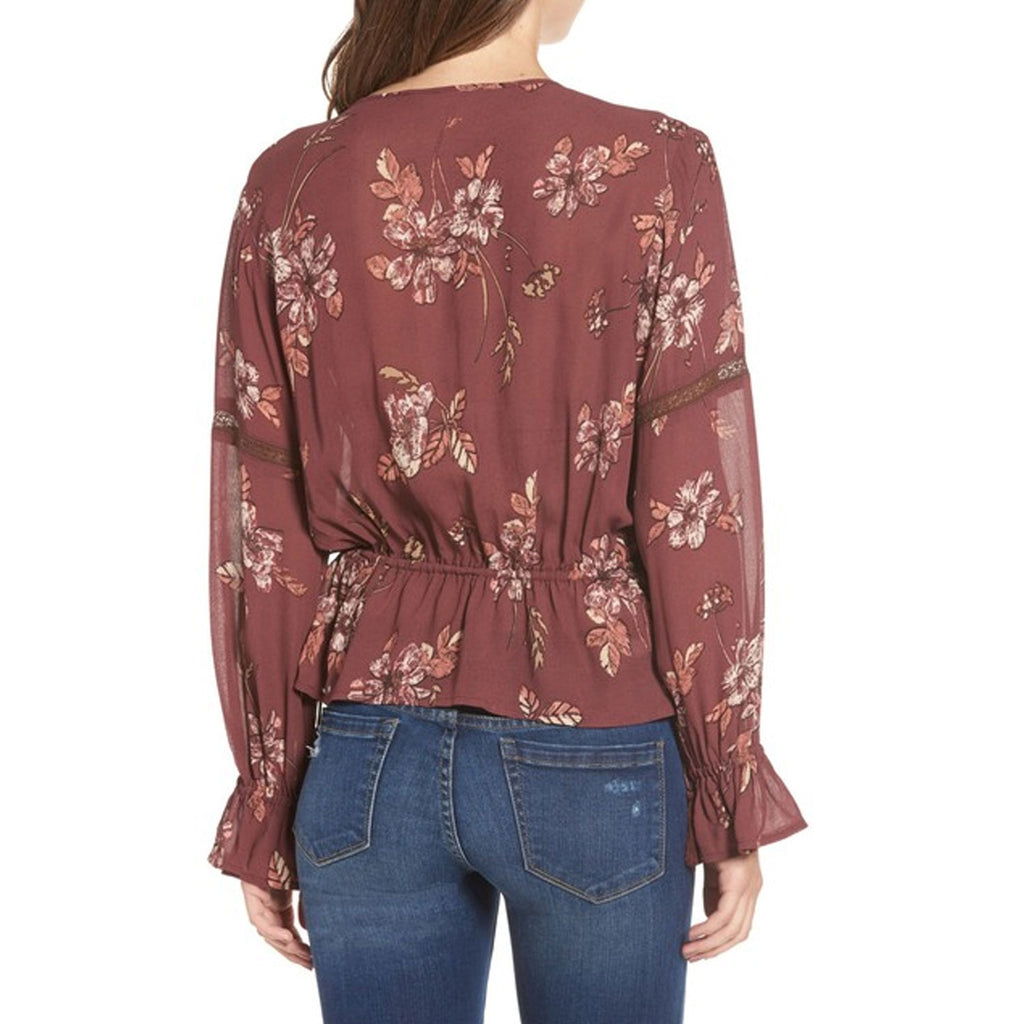 Astr the Label  Rosalie Print Top Size  Muse Boutique Outlet | Shop Designer Blouses on Sale | Up to 90% Off Designer Fashion