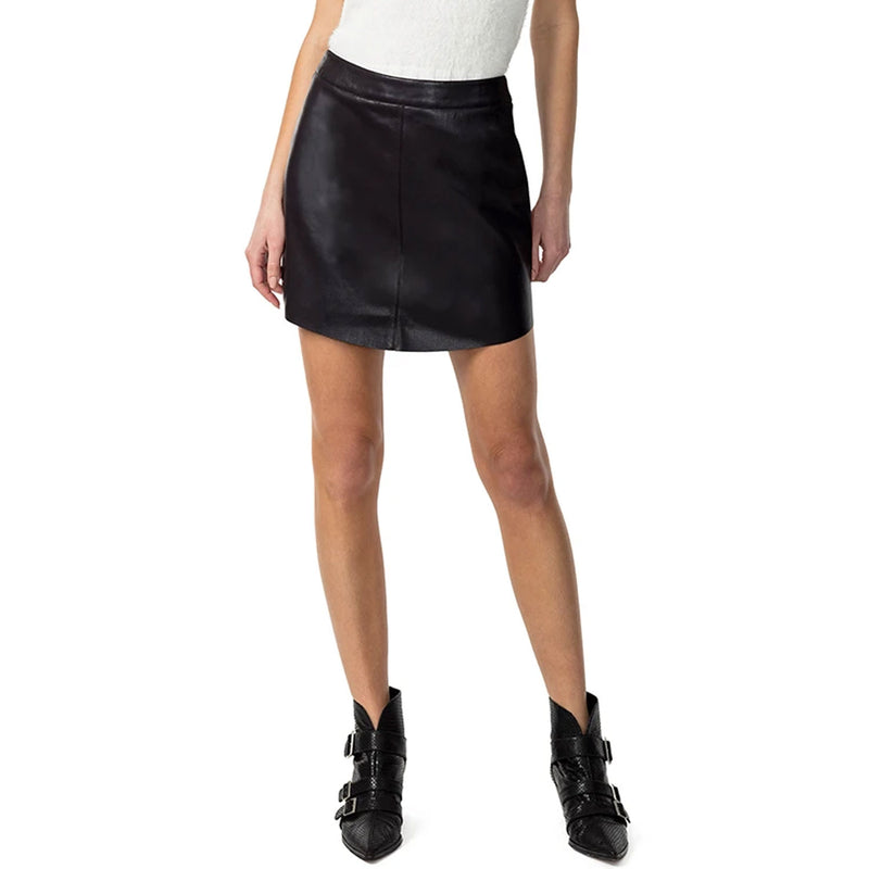 Astars Black Vegan Leather Mini Skirt Size Small Muse Boutique Outlet | Shop Designer Skirts on Sale | Up to 90% Off Designer Fashion