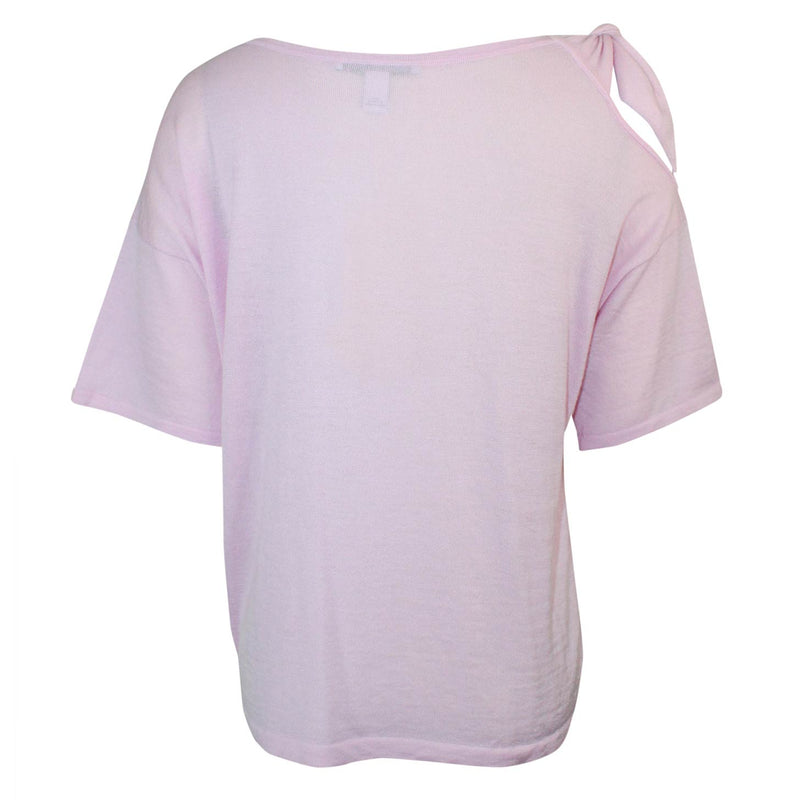 Autumn Cashmere  Tied Shoulder Tee Size  Muse Boutique Outlet | Shop Designer Short Sleeve Tops on Sale | Up to 90% Off Designer Fashion