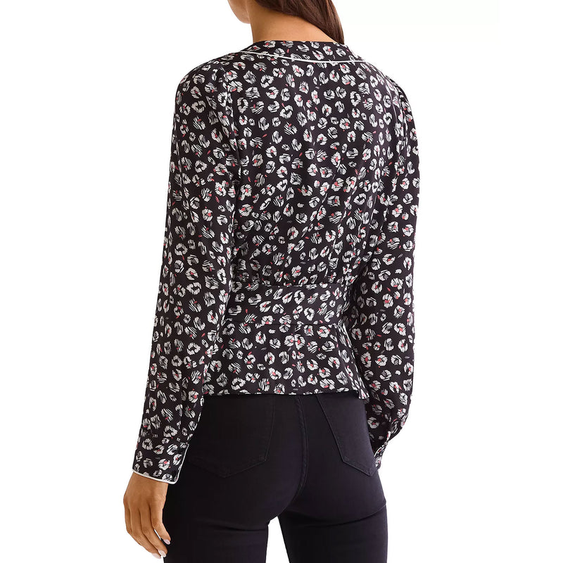 Bailey 44  Marguerite Leopard Top Size  Muse Boutique Outlet | Shop Designer Long Sleeve Tops on Sale | Up to 90% Off Designer Fashion