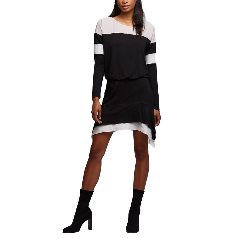 Bailey 44 Black Multi Harper Colorblock Dress Size Extra Small Muse Boutique Outlet | Shop Designer Dresses on Sale | Up to 90% Off Designer Fashion