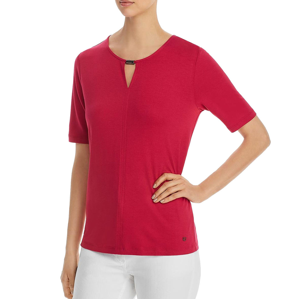 Basler Summer Nights Keyhole Top Size 10 Muse Boutique Outlet | Shop Designer Three Quarter Sleeve Tops on Sale | Up to 90% Off Designer Fashion
