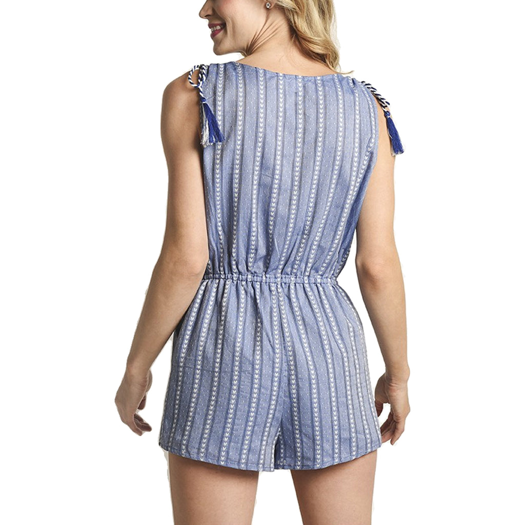 BB Dakota  Striped Romper Size  Muse Boutique Outlet | Shop Designer Clearance Bottoms on Sale | Up to 90% Off Designer Fashion