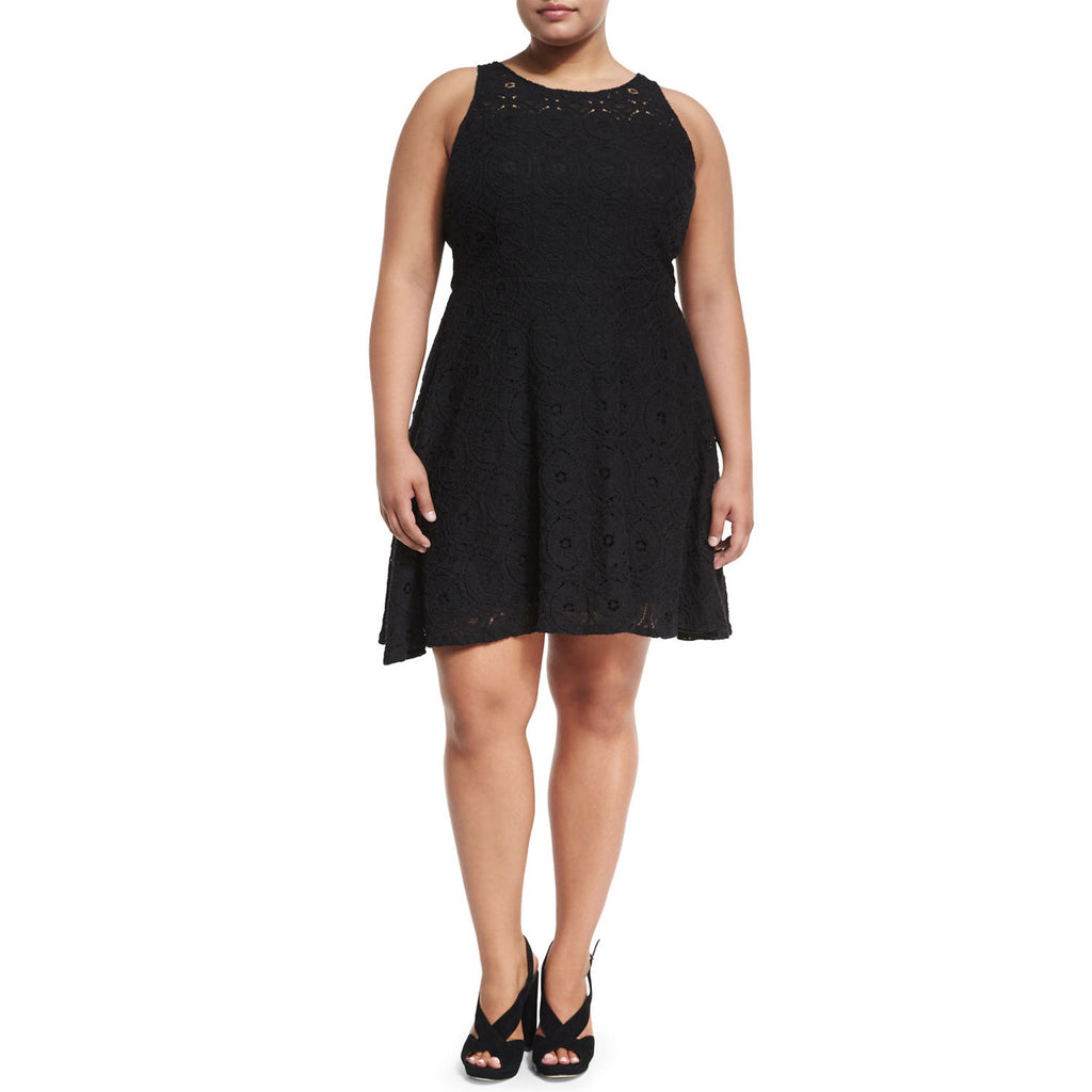 BB Dakota Black Lace Fit & Flare Dress Size 14 Muse Boutique Outlet | Shop Designer Plus Size Dresses on Sale | Up to 90% Off Designer Fashion