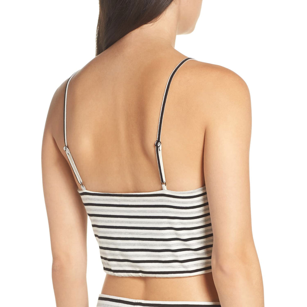 BB Dakota  Striped V Neck Crop Top Size  Muse Boutique Outlet | Shop Designer Sleeveless Tops on Sale | Up to 90% Off Designer Fashion