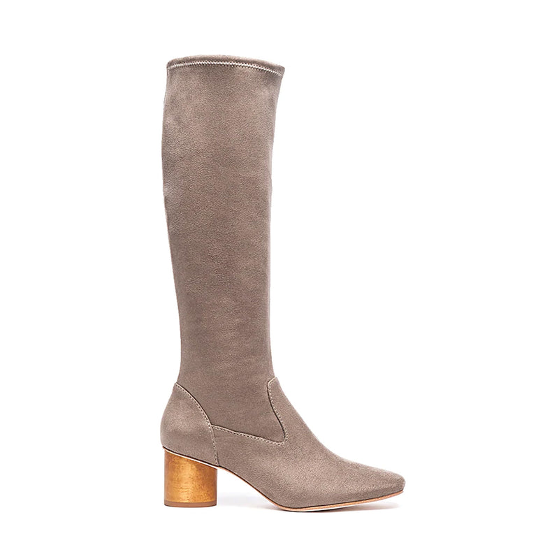 Bernardo Taupe Dea Suede Boot Size 10 Muse Boutique Outlet | Shop Designer Boots on Sale | Up to 90% Off Designer Fashion