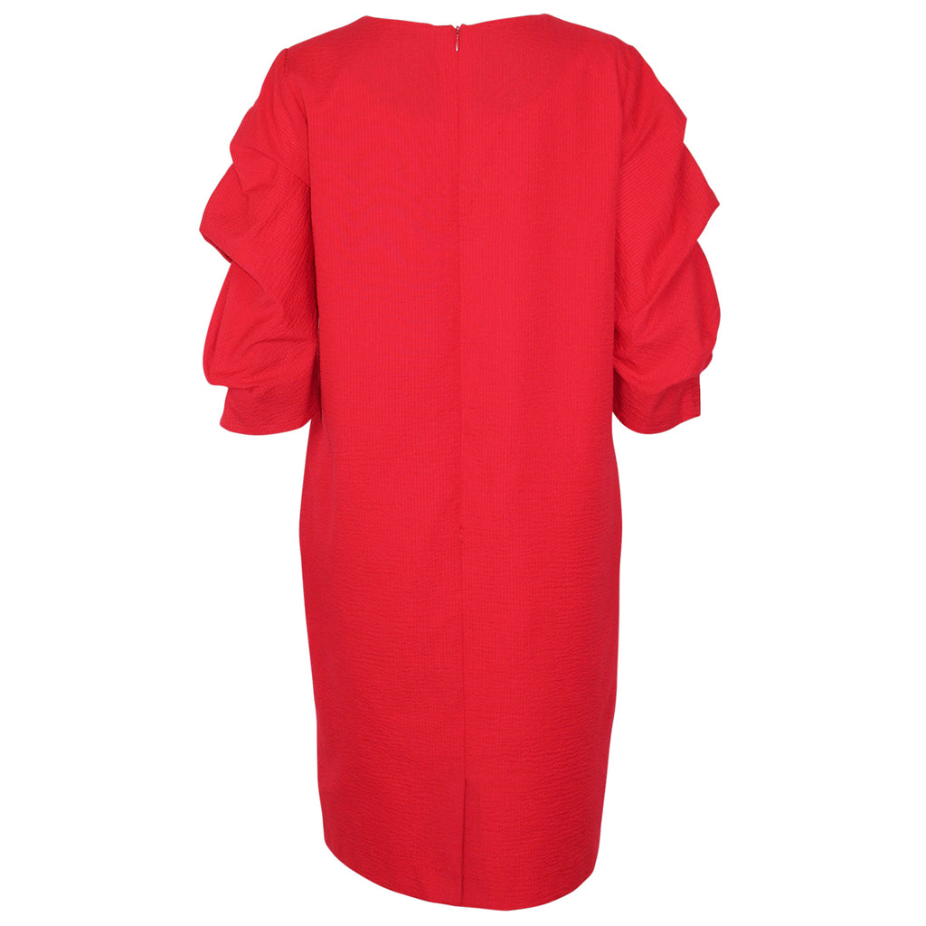 Bigio Collection  Gathered Sleeve Dress Size  Muse Boutique Outlet | Shop Designer Dresses on Sale | Up to 90% Off Designer Fashion