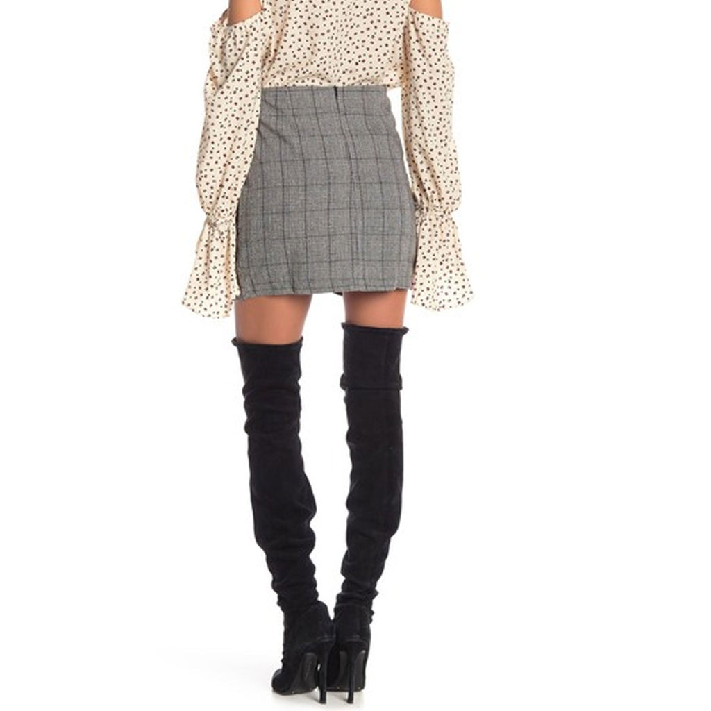 Bishop & Young  Checkmate Mini Skirt Size  Muse Boutique Outlet | Shop Designer Skirts on Sale | Up to 90% Off Designer Fashion