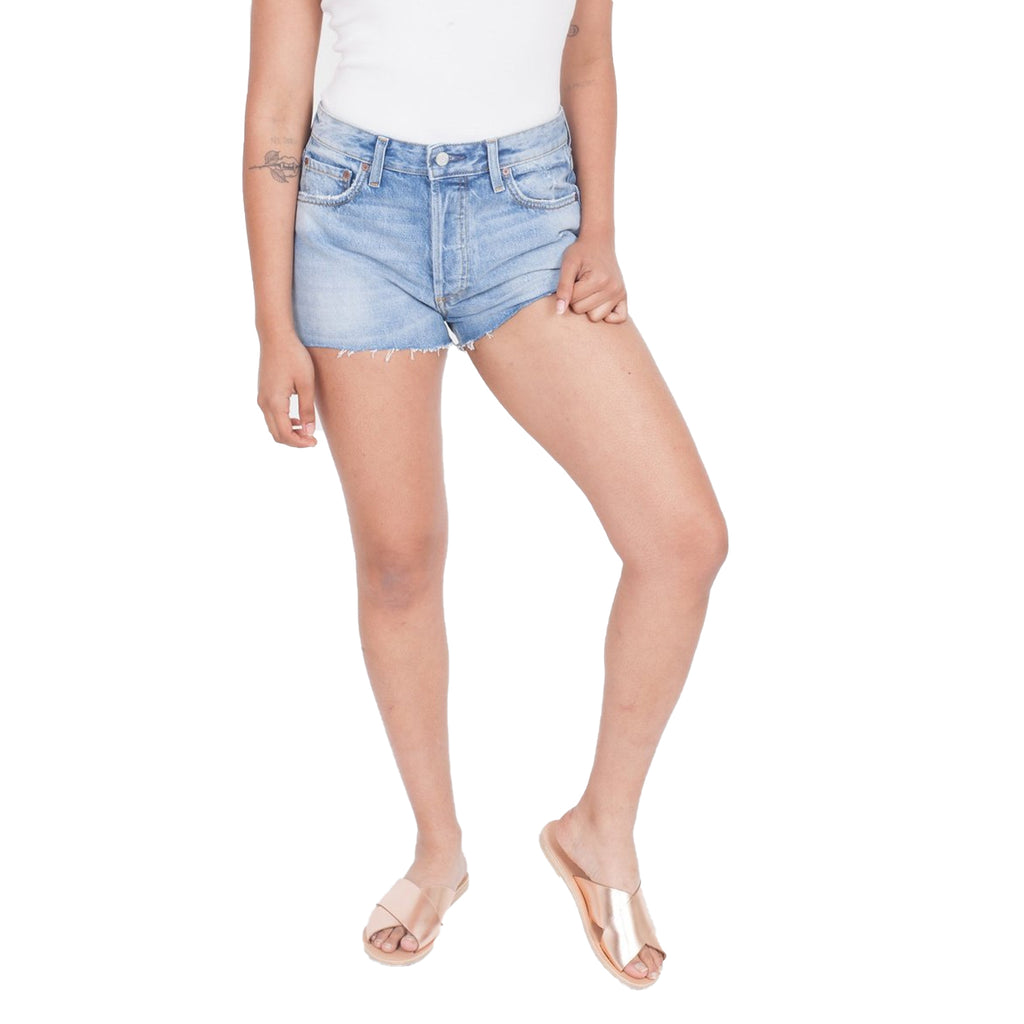 Boyish Don't Look Now Cody Denim Shorts in Don't Look Now Size 25 Muse Boutique Outlet | Shop Designer Shorts on Sale | Up to 90% Off Designer Fashion