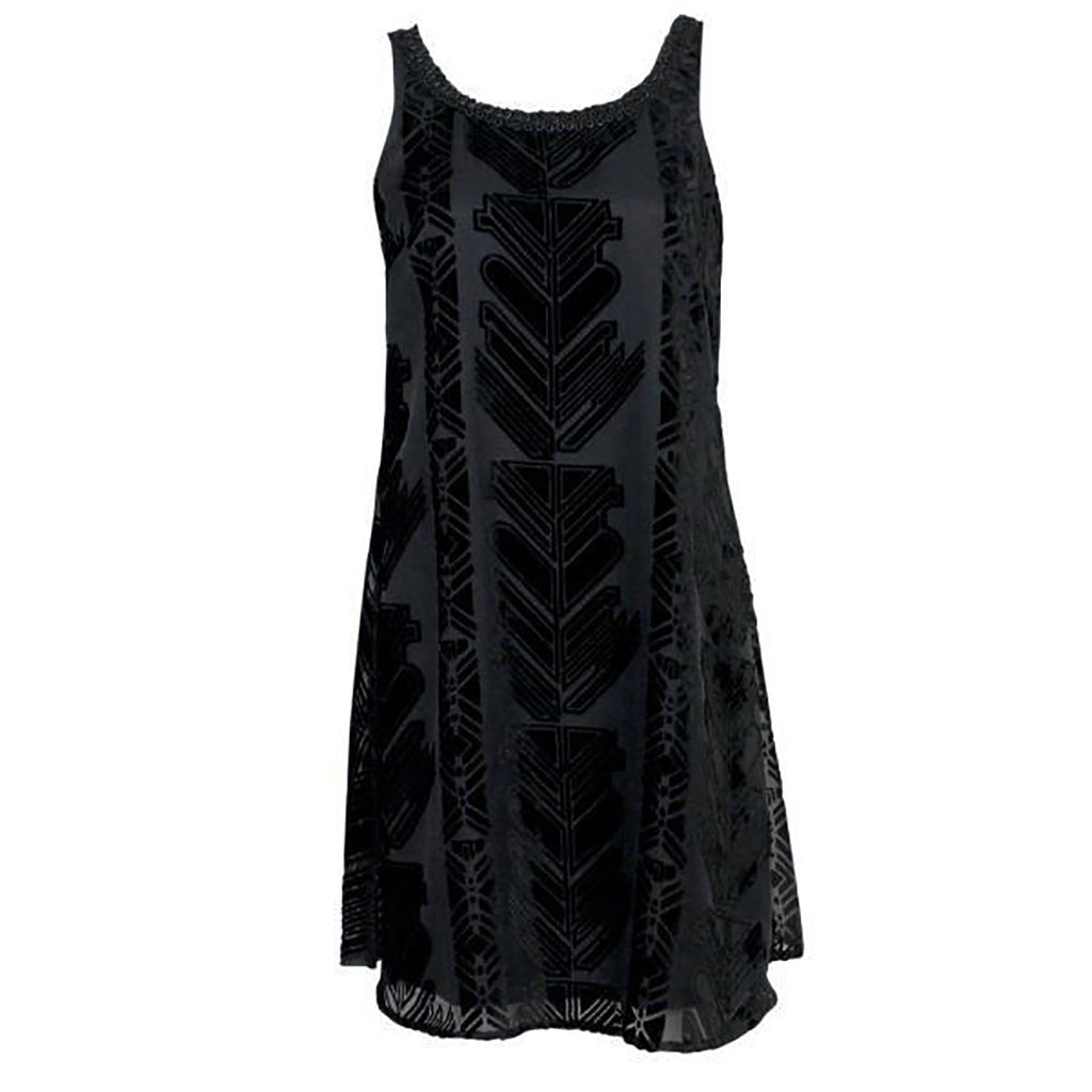 Plenty by Tracey Reese Black Velvet Burnout Dress Size Small Muse Boutique Outlet | Shop Designer Clearance Dresses on Sale | Up to 90% Off Designer Fashion