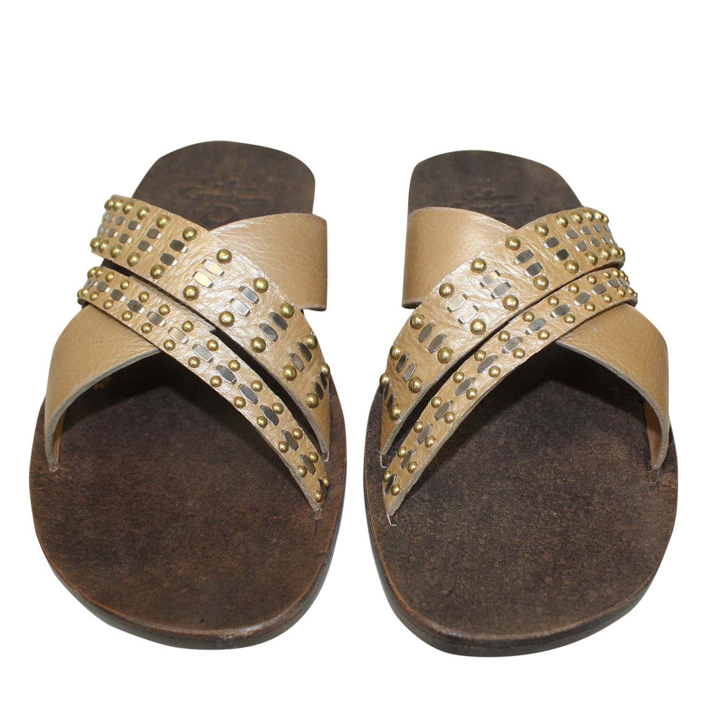 Calleen Cordero  Rasha Slide Sandal Size  Muse Boutique Outlet | Shop Designer Sandals on Sale | Up to 90% Off Designer Fashion