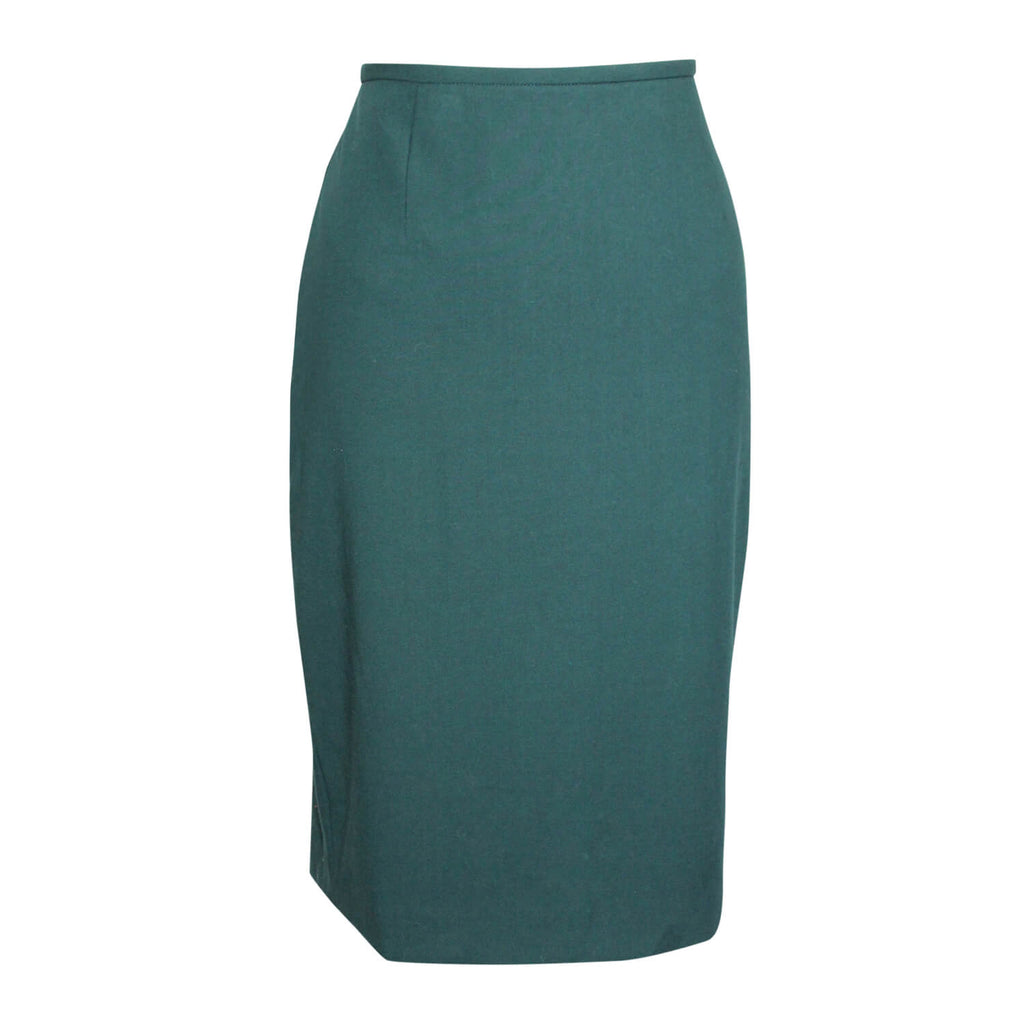 Calvin Klein Emerald Pencil Skirt Size 8 Muse Boutique Outlet | Shop Designer Skirts on Sale | Up to 90% Off Designer Fashion