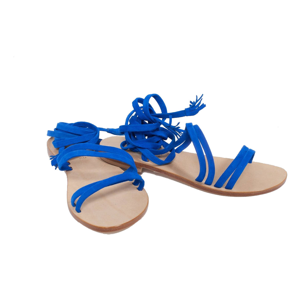 Capri Positano Blue Appia Sandal Size 6 Muse Boutique Outlet | Shop Designer Sandals on Sale | Up to 90% Off Designer Fashion