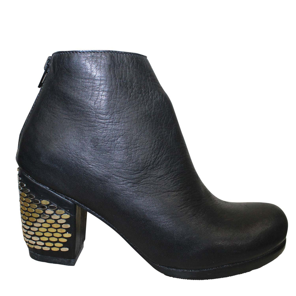 Calleen Cordero Black Mavi Leather Bootie Size 6 Muse Boutique Outlet | Shop Designer Boots on Sale | Up to 90% Off Designer Fashion