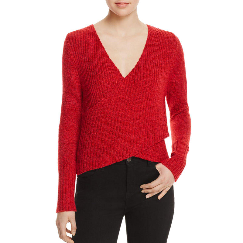 C/Meo Collective Red Evolution Crossover Sweater Size Large Muse Boutique Outlet | Shop Designer Sweaters on Sale | Up to 90% Off Designer Fashion