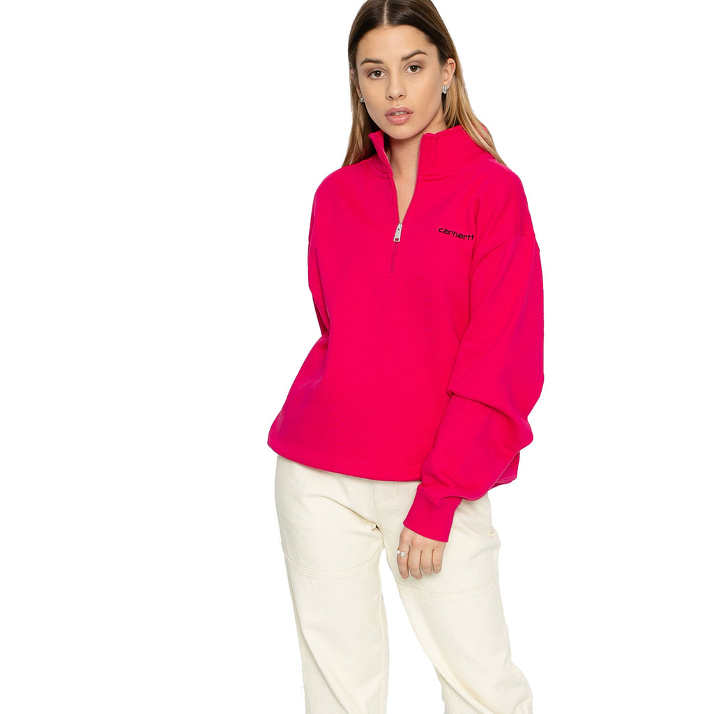 Carhartt Ruby Pink High Neck Sweatshirt Size Medium Muse Boutique Outlet | Shop Designer Loungewear on Sale | Up to 90% Off Designer Fashion
