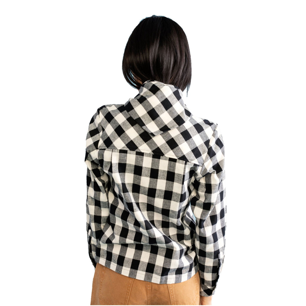 Carleen  Buffalo Check Bandana Neck Blouse Size  Muse Boutique Outlet | Shop Designer Long Sleeve Tops on Sale | Up to 90% Off Designer Fashion