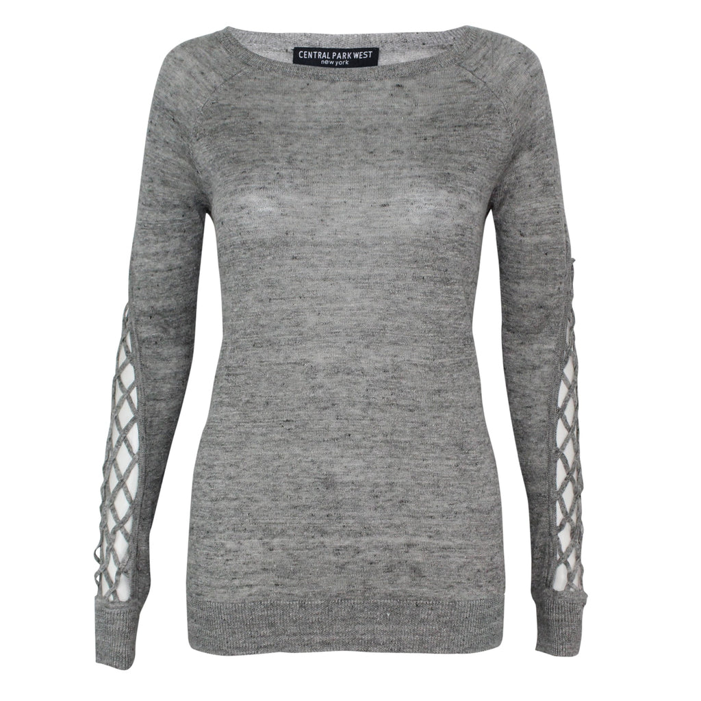 Central Park West Marled Aurora Knit Pullover Size Extra Small Muse Boutique Outlet | Shop Designer Clearance Sweaters on Sale | Up to 90% Off Designer Fashion