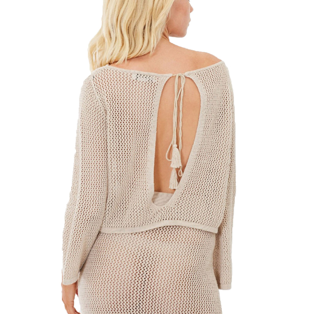 Charlie Holiday  Crochet Knit Top Size  Muse Boutique Outlet | Shop Designer Long Sleeve Tops on Sale | Up to 90% Off Designer Fashion