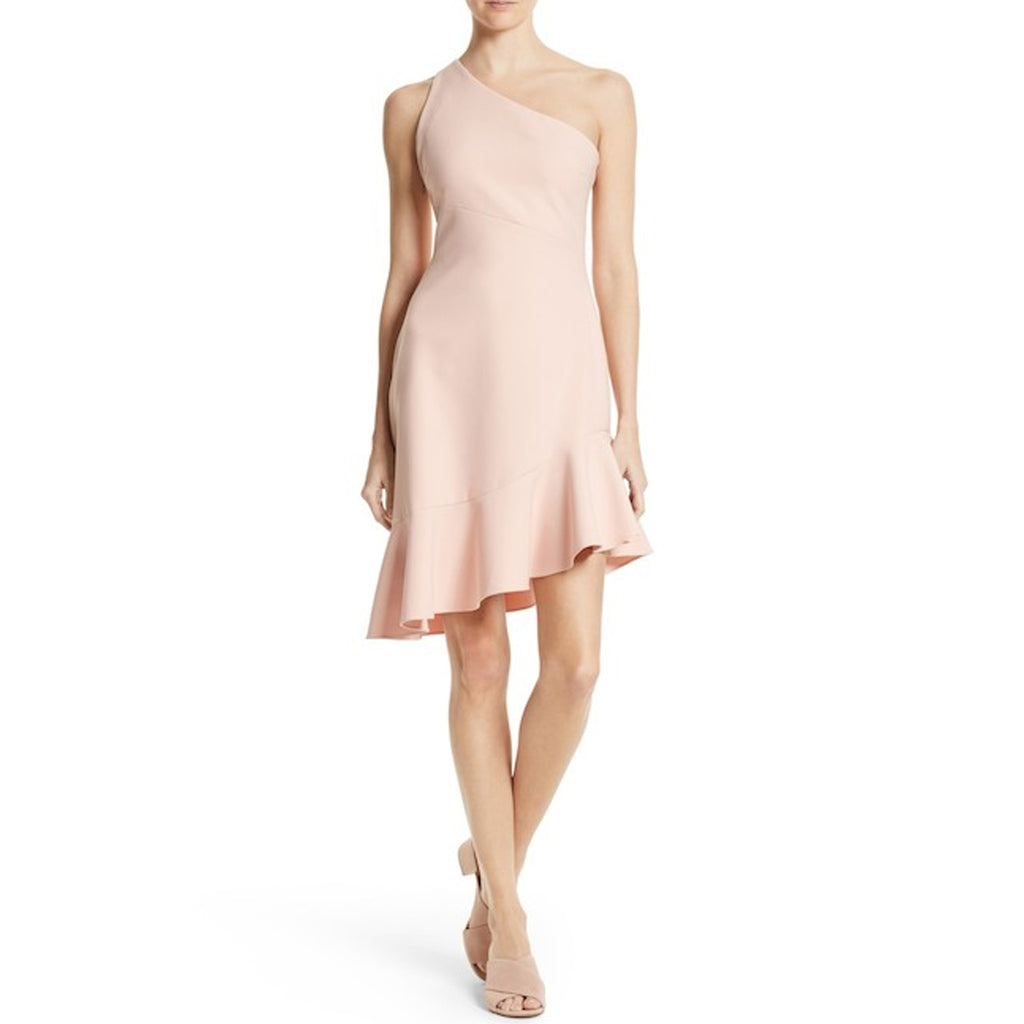 Cinq a Sept Melon Stella One Shoulder Dress Size 6 Muse Boutique Outlet | Shop Designer Evening/Cocktail on Sale | Up to 90% Off Designer Fashion