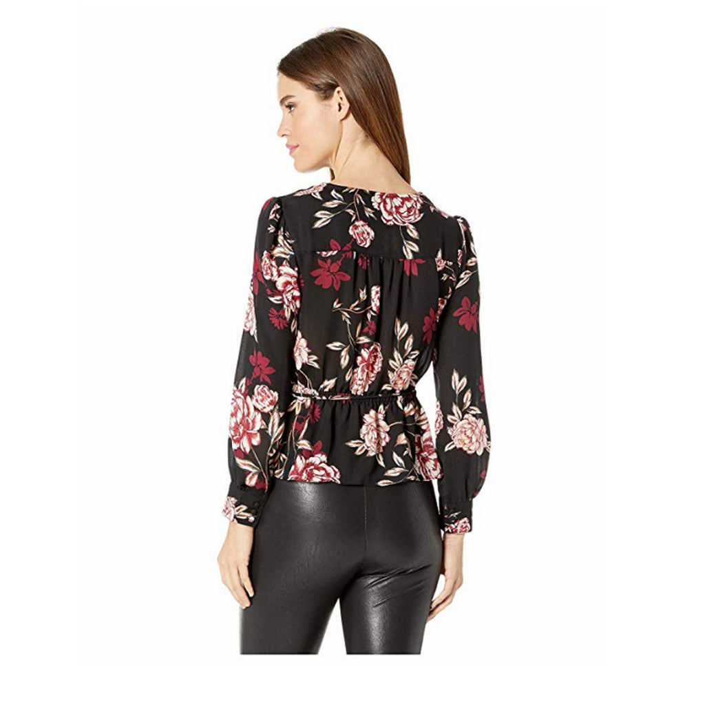 Cupcakes and Cashmere  Colista Wrap Top Size  Muse Boutique Outlet | Shop Designer Blouses on Sale | Up to 90% Off Designer Fashion