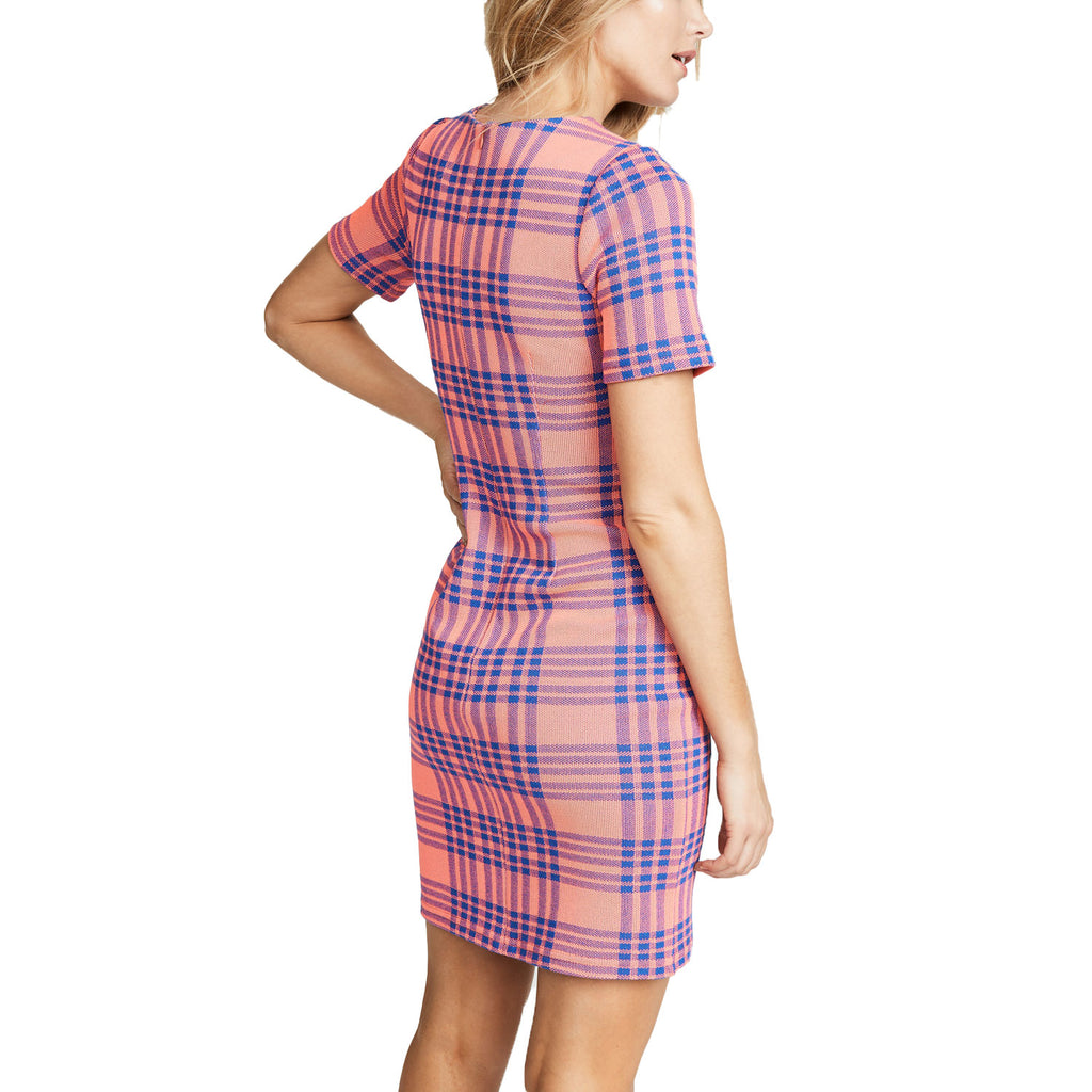 Cynthia Rowley  Plaid Knit Sheath Dress Size  Muse Boutique Outlet | Shop Designer Dresses on Sale | Up to 90% Off Designer Fashion