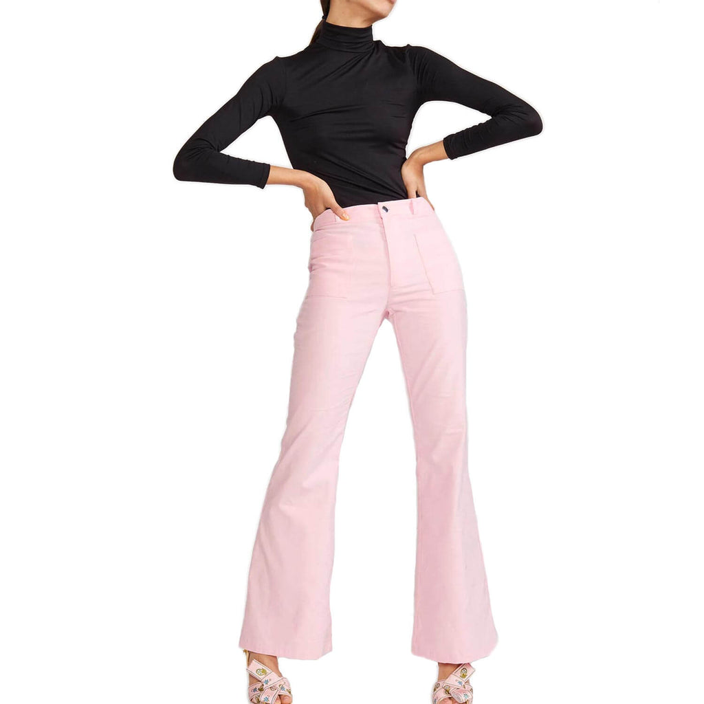 Cynthia Rowley Pink Blake Corduroy Pant Size 6 Muse Boutique Outlet | Shop Designer Pant on Sale | Up to 90% Off Designer Fashion
