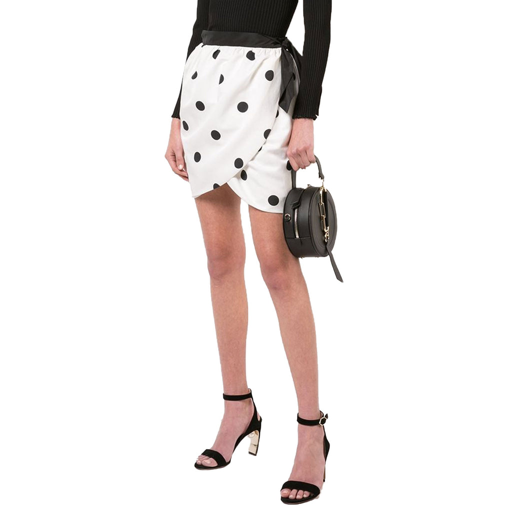 Cynthia Rowley White Polka Dot Wrap Skirt Size 0 Muse Boutique Outlet | Shop Designer Skirts on Sale | Up to 90% Off Designer Fashion