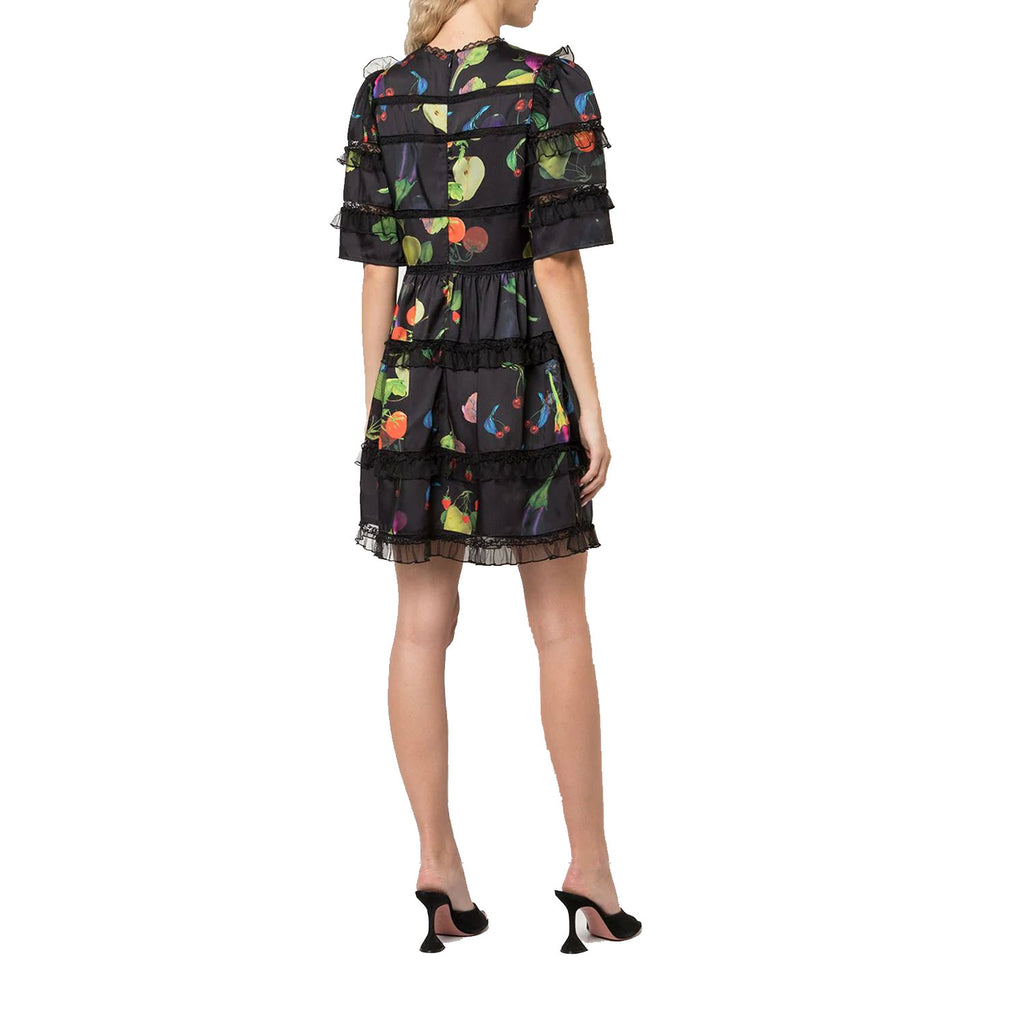 Cynthia Rowley  Olivia Printed Lace Tulle Mini Dress Size  Muse Boutique Outlet | Shop Designer Dresses on Sale | Up to 90% Off Designer Fashion