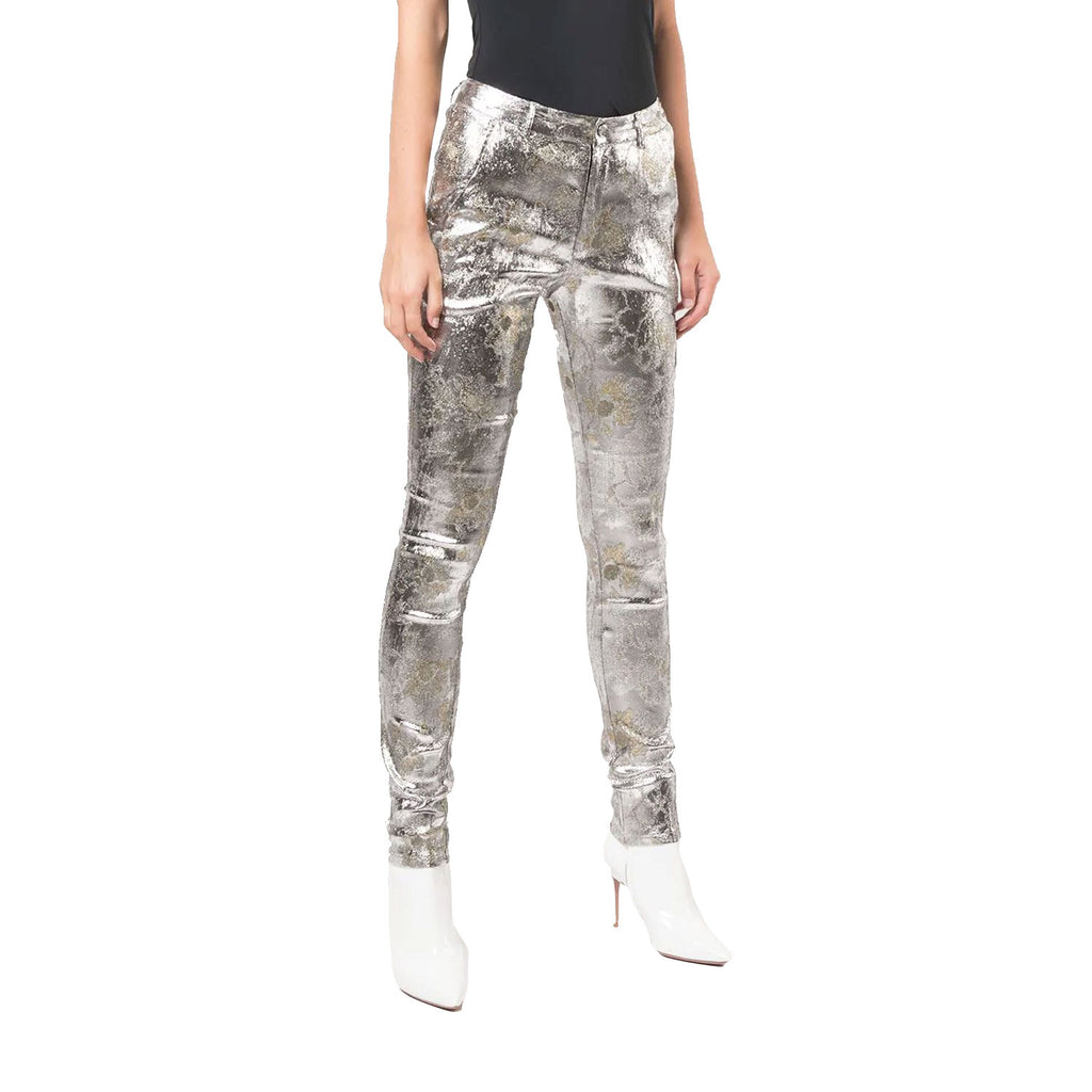 Cynthia Rowley Metallic Gold Coast Metallic Trouser Size 0 Muse Boutique Outlet | Shop Designer Pant on Sale | Up to 90% Off Designer Fashion