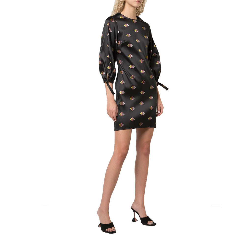 Cynthia Rowley Black Multi Nathalie Printed Jacquard Dress Size 0 Muse Boutique Outlet | Shop Designer Dresses on Sale | Up to 90% Off Designer Fashion