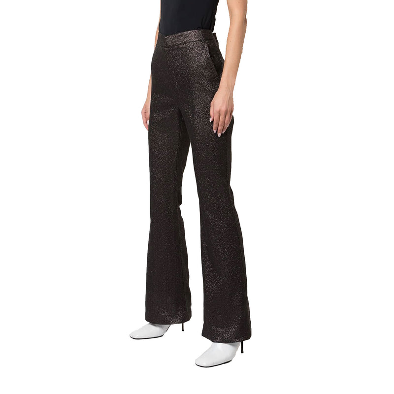 Cynthia Rowley Black Rayna Shimmer Trousers Size 0 Muse Boutique Outlet | Shop Designer Pant on Sale | Up to 90% Off Designer Fashion