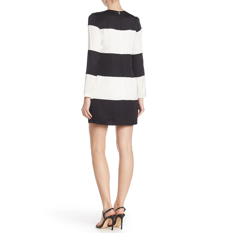 Cynthia Rowley  Long Sleeve Striped Shift Dress Size  Muse Boutique Outlet | Shop Designer Dresses on Sale | Up to 90% Off Designer Fashion