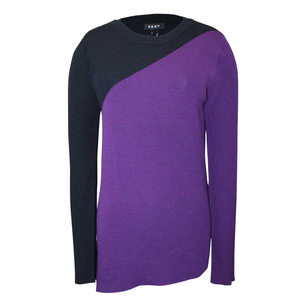 DKNY Purple City Lights Sweater Size Medium Muse Boutique Outlet | Shop Designer Clearance Tops on Sale | Up to 90% Off Designer Fashion