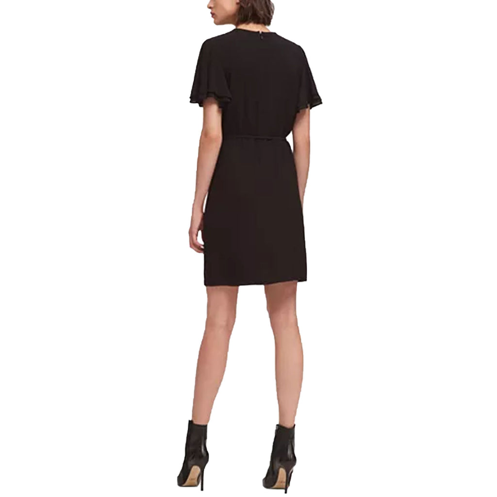 DKNY  Flounce Sleeve Keyhole Dress Size  Muse Boutique Outlet | Shop Designer Dresses on Sale | Up to 90% Off Designer Fashion