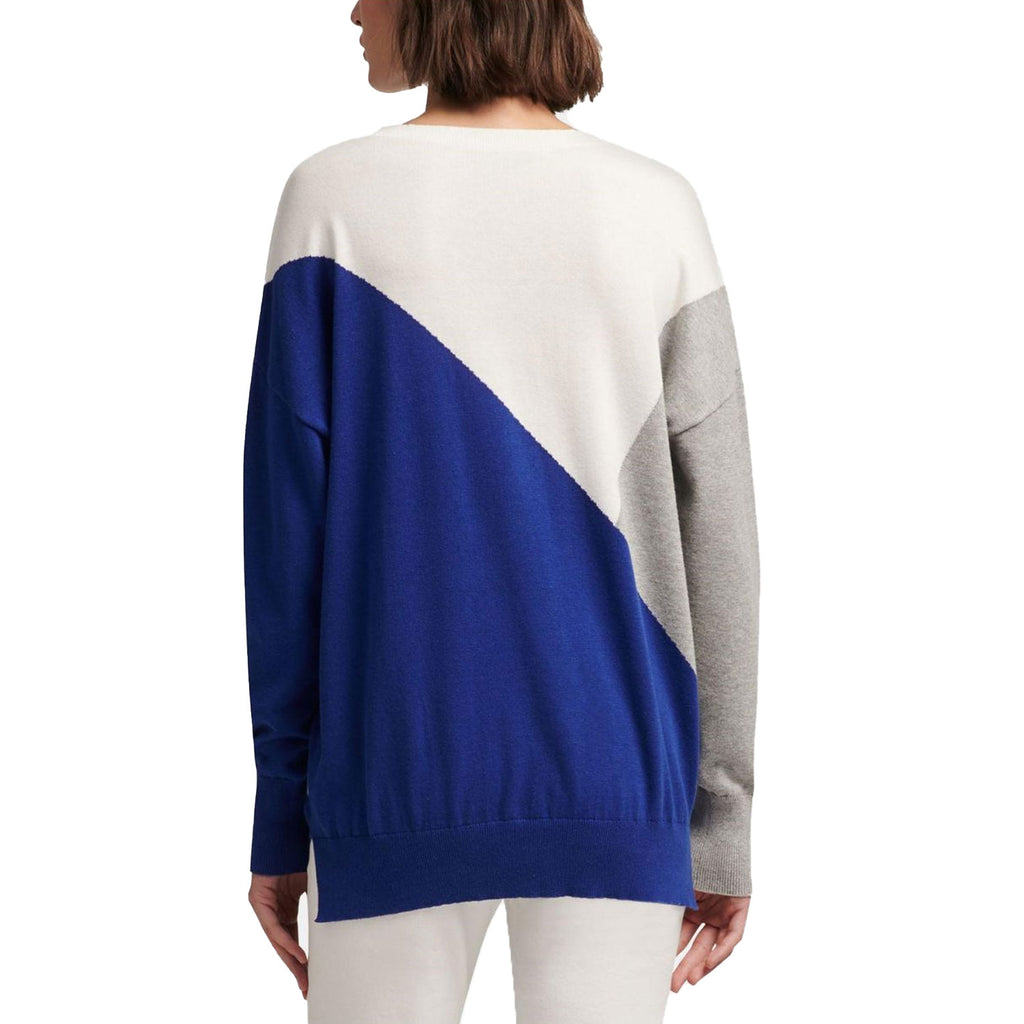 DKNY  Living Linear Colorblock Sweatershirt Size  Muse Boutique Outlet | Shop Designer Sweaters on Sale | Up to 90% Off Designer Fashion