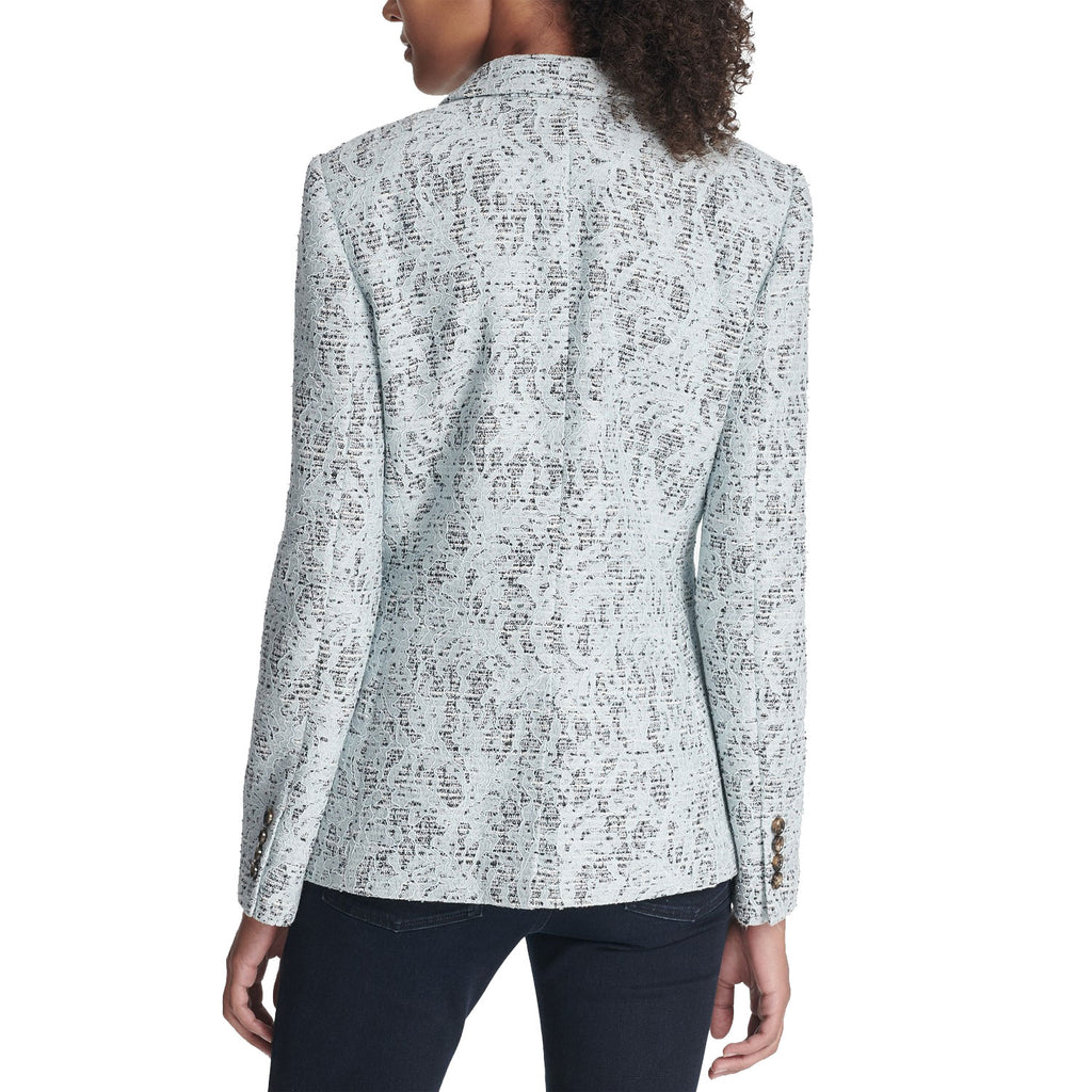 DKNY  Bonded Lace One-Button Jacket Size  Muse Boutique Outlet | Shop Designer Blazers on Sale | Up to 90% Off Designer Fashion