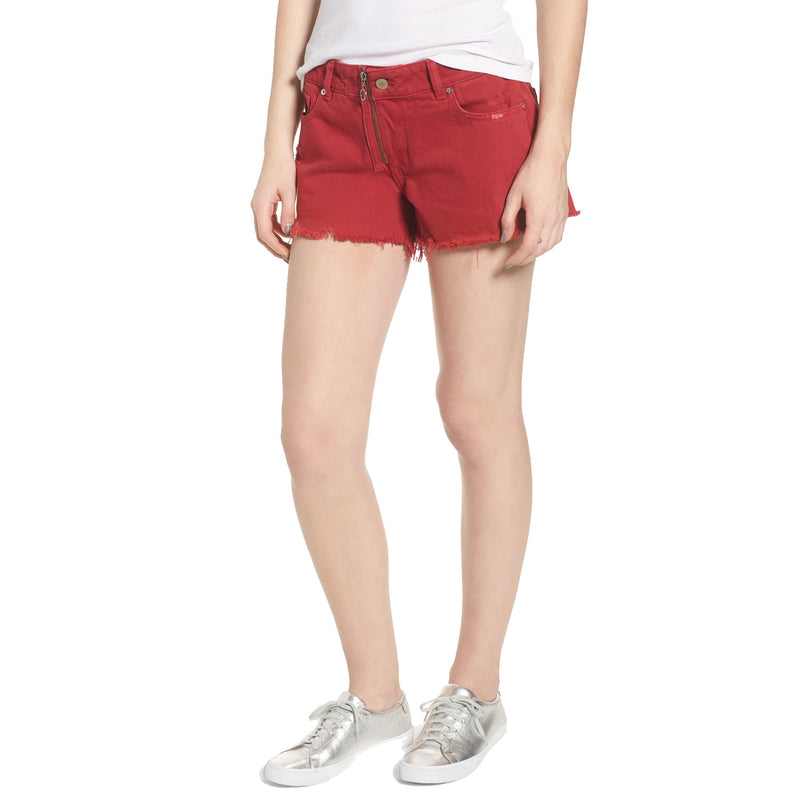 DL1961 Cherry Bomb Renee Cutoff Shorts Size 27 Muse Boutique Outlet | Shop Designer Shorts on Sale | Up to 90% Off Designer Fashion